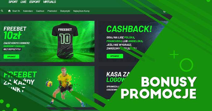 Promocje i bonusy na start Totalbet
