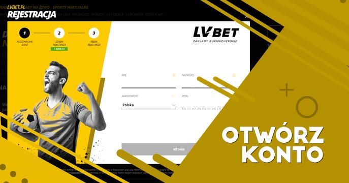 Jak założyć konto w LVBet