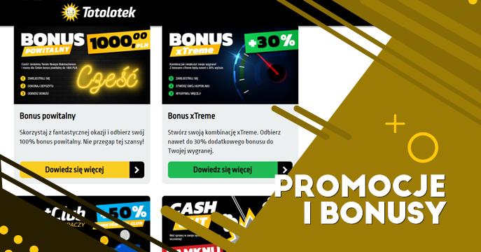Promocje i bonusy w Totolotek